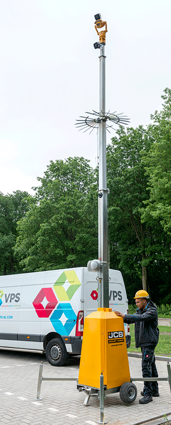 24/7 site security with JCB SmartTower