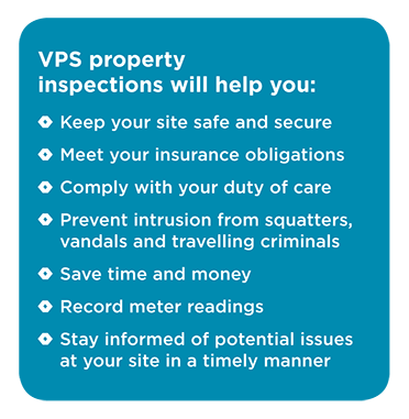 Void or Vacant Property Inspection