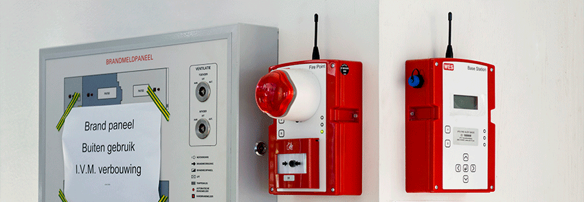 Ensure your construction site is fire-safe with VPS FireAlert Wes+