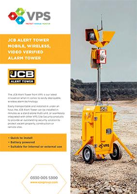 Jcb Alert Tower Video Verified Alarm Tower