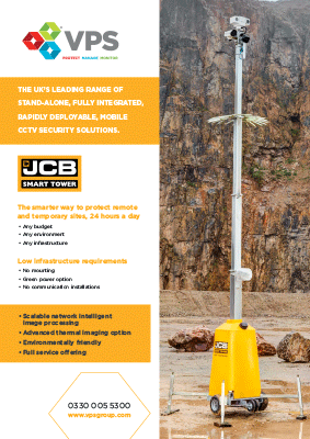 Jcb Smarttower Cctv Security Tower