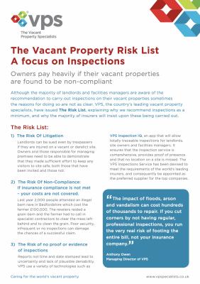 VPS Risk List