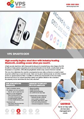 Vps Smart Door Bluetooth Enabled Door