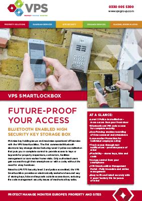 Vps Smartlockbox Key Sotrage Box